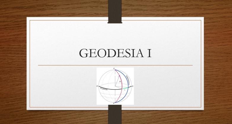 Geodesia 1